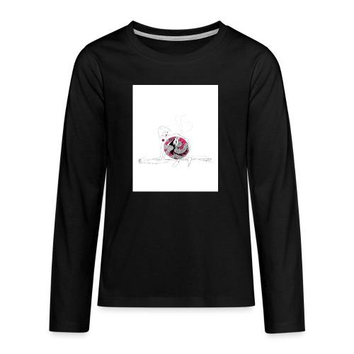 red lady - Teenagers' Premium Longsleeve Shirt