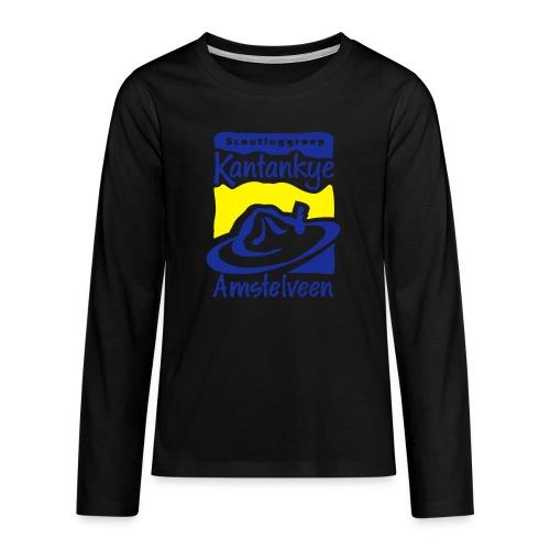 logo simpel 2 - Teenager Premium shirt met lange mouwen
