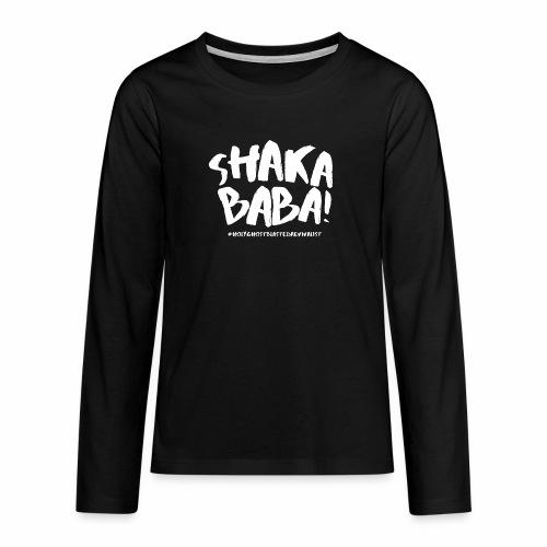 shaka - Teinien premium pitkähihainen t-paita