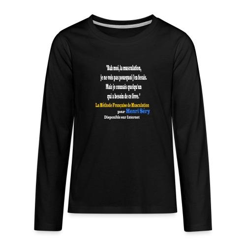 LMF Sante 2 v2 - T-shirt manches longues Premium Ado