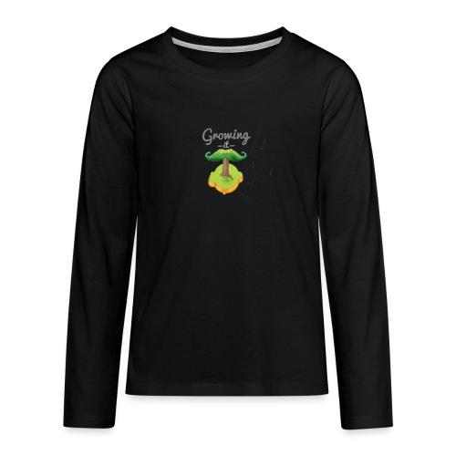 Moustache tree - Teenagers' Premium Longsleeve Shirt