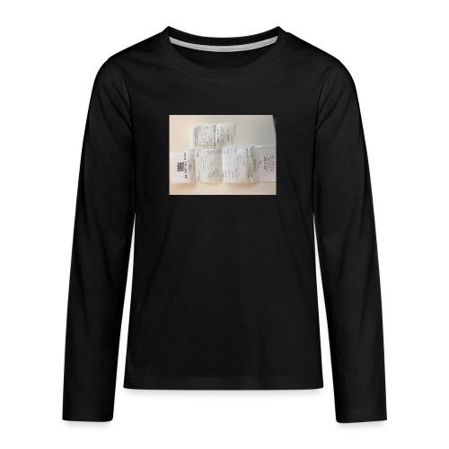 IMG 1070 - Teenagers' Premium Longsleeve Shirt