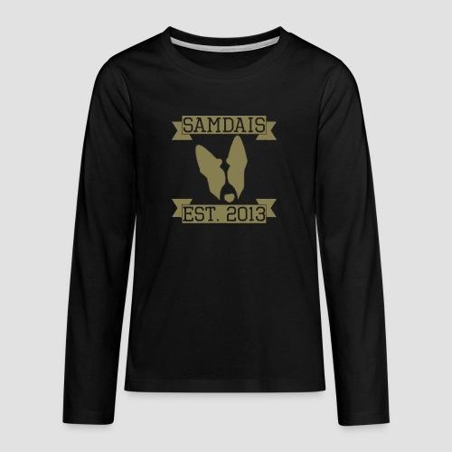 2013 Worn - Teenagers' Premium Longsleeve Shirt