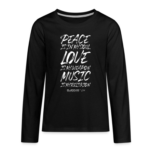 Djecko 001 - T-shirt manches longues Premium Ado