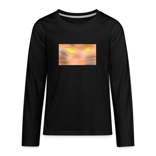Cat un the un un night gato o animé - Camiseta de manga larga premium adolescente