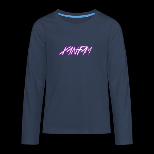 XANFAM (FREE LOGO) - Teenager Premium Langarmshirt