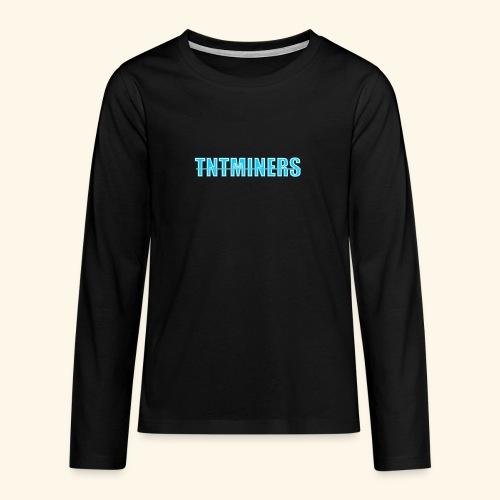 tntminers annan faerg 4 - Långärmad premium T-shirt tonåring