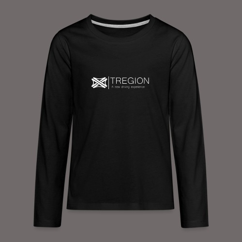 Tregion Logo wide - Teenagers' Premium Longsleeve Shirt