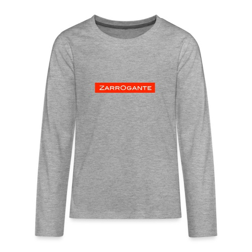 BasicLogoRed - Maglietta Premium a manica lunga per teenager