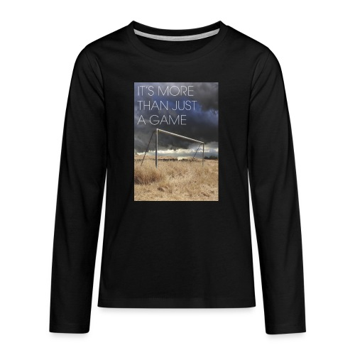 more - Teenagers' Premium Longsleeve Shirt