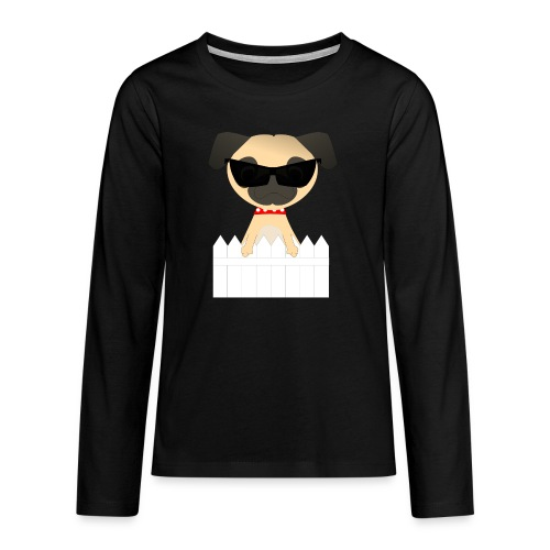pug - Teenagers' Premium Longsleeve Shirt