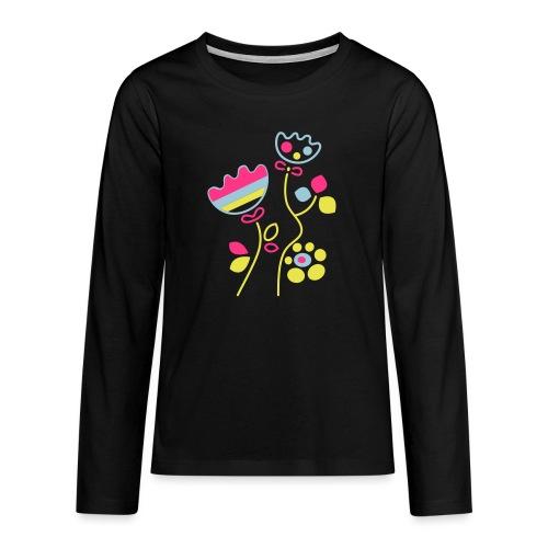 tulipani - Maglietta Premium a manica lunga per teenager