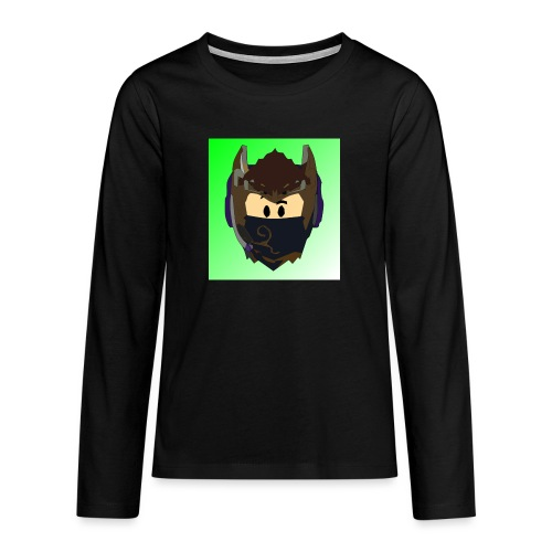 AN1MAYTRZ logo - Teenagers' Premium Longsleeve Shirt