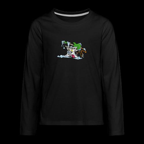 Wicked Washing Machine Wasmachine - Teenager Premium shirt met lange mouwen