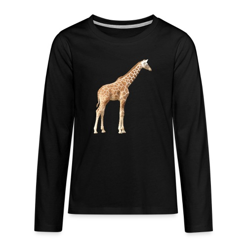 Giraffe - Teenager Premium Langarmshirt