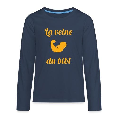 La veine du - T-shirt manches longues Premium Ado