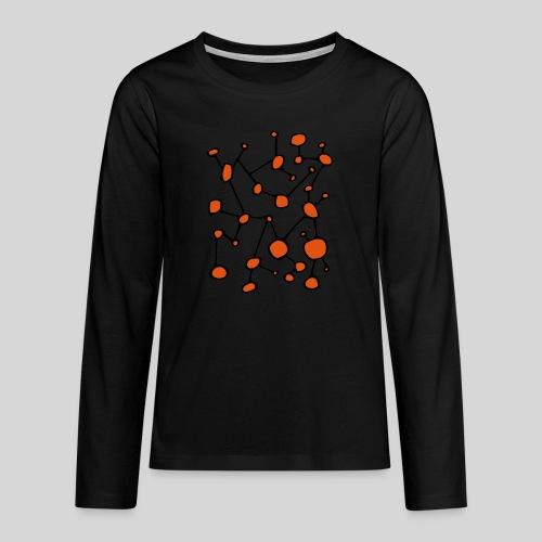 connected_version2 - Teenager Premium Langarmshirt
