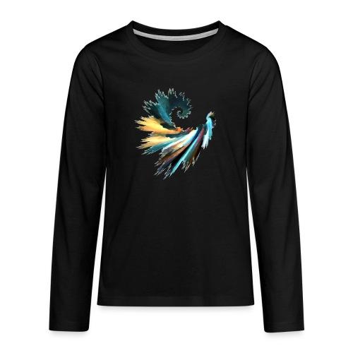 Fractal - T-shirt manches longues Premium Ado