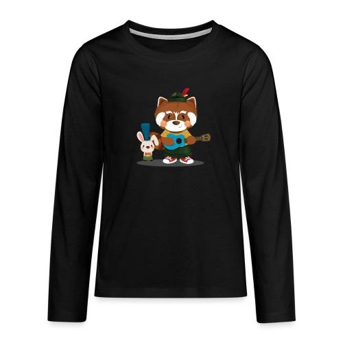 1 - T-shirt manches longues Premium Ado