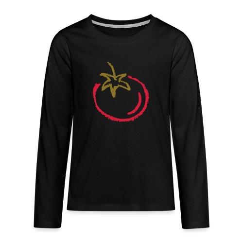 tomato 1000points - Teenagers' Premium Longsleeve Shirt