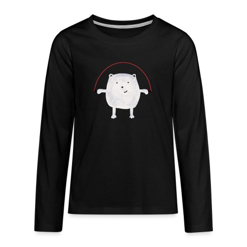 Jumping Monsta by #OneCreativeArts - Teenager Premium Langarmshirt