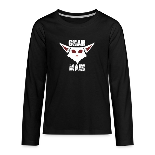 Gnar Main - Teenager Premium Langarmshirt