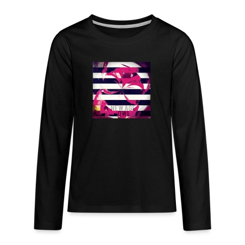 New age owl - Teenagers' Premium Longsleeve Shirt