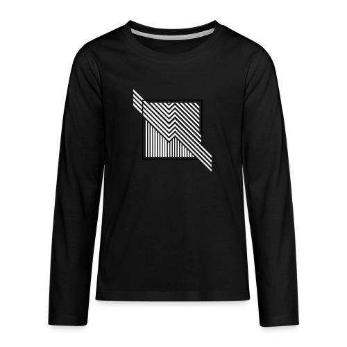 Lines in the dark - Teenagers' Premium Longsleeve Shirt