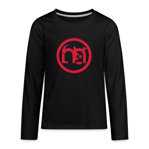 LOGO rond seul - T-shirt manches longues Premium Ado