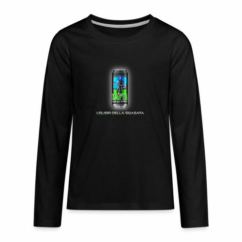 Nafta Energy Drink - Maglietta Premium a manica lunga per teenager