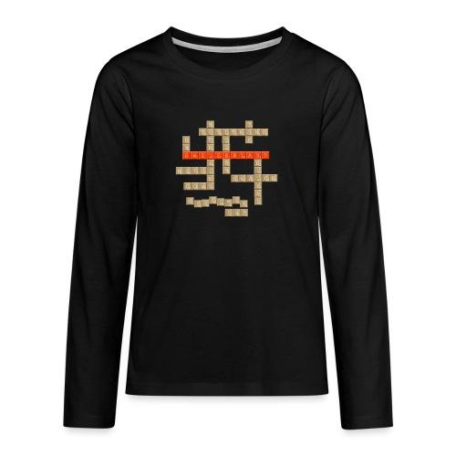 Scrabble - Switzerland - Teenager Premium Langarmshirt