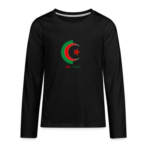 logo 3 sans fond dz1962 - T-shirt manches longues Premium Ado