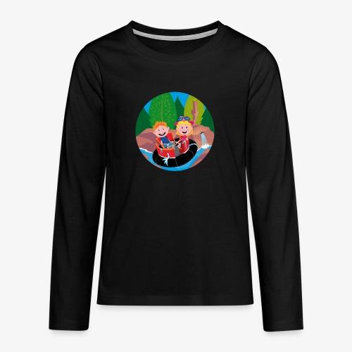 Themepark: Rapids - Teenager Premium shirt met lange mouwen