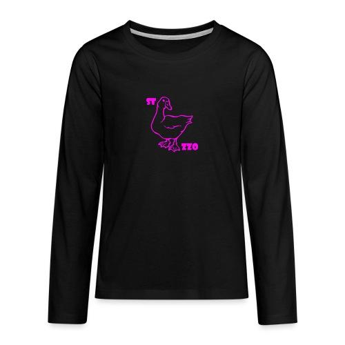 REBUS...STOCAZZO - Maglietta Premium a manica lunga per teenager