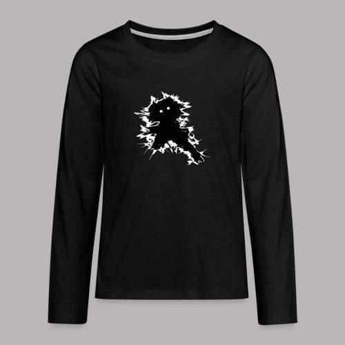 Charlie The Scratch Kid - Teenagers' Premium Longsleeve Shirt