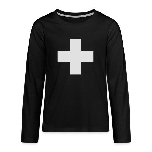 Kreuz - Teenager Premium Langarmshirt