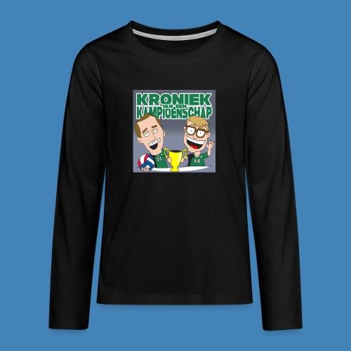 Kroniek van een Kampioenschap - Teenager Premium shirt met lange mouwen