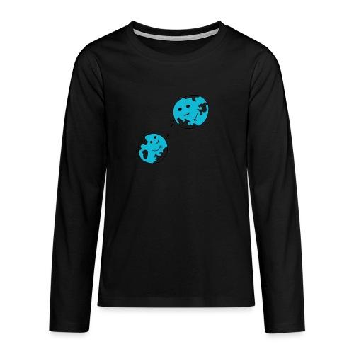 earth - Teenager Premium Langarmshirt