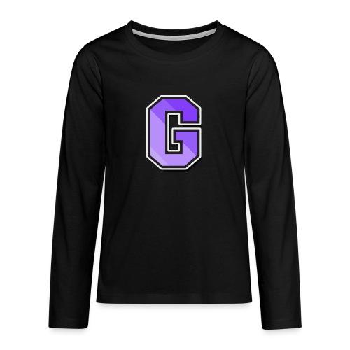 Gaffla Barn - Långärmad premium T-shirt tonåring