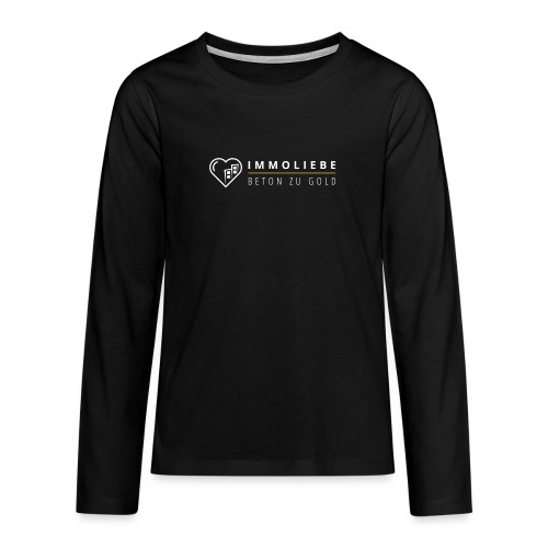 Beton zu Gold mit Immoliebe 💛 - Teenager Premium Langarmshirt