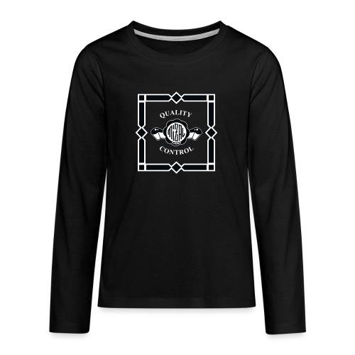 Quality Control by MizAl - Koszulka Premium z długim rękawem dla nastolatków