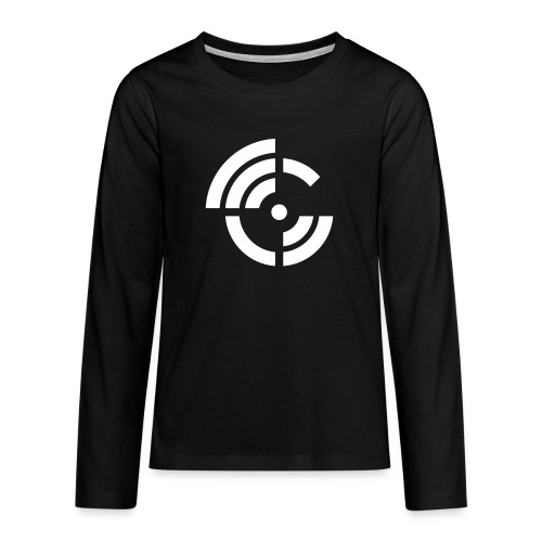 electroradio.fm logo - Teenagers' Premium Longsleeve Shirt