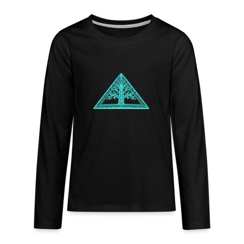 Lebensbaum - Teenager Premium Langarmshirt