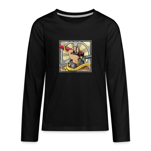 Quaerite et invenietis - Camiseta de manga larga premium adolescente