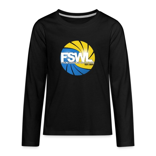 From Sweden With Love (FSWL) - Långärmad premium T-shirt tonåring