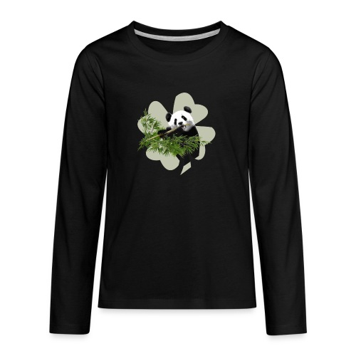My lucky Panda - T-shirt manches longues Premium Ado