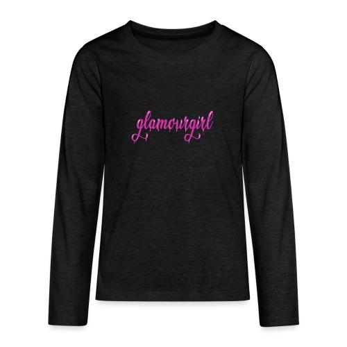 Glamourgirl dripping letters - Teenager Premium shirt met lange mouwen