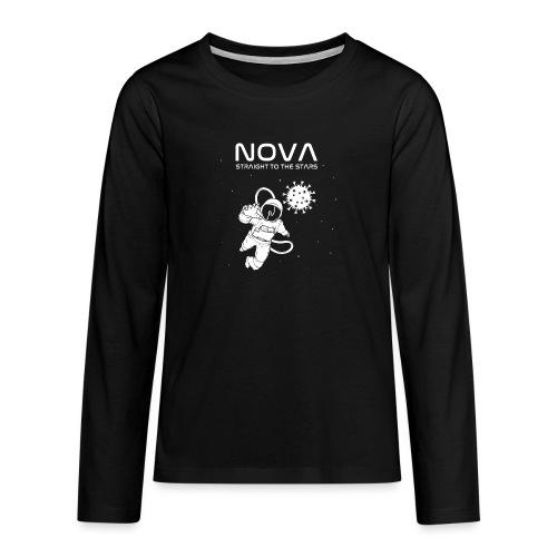 Novacyt cosmonaute - T-shirt manches longues Premium Ado