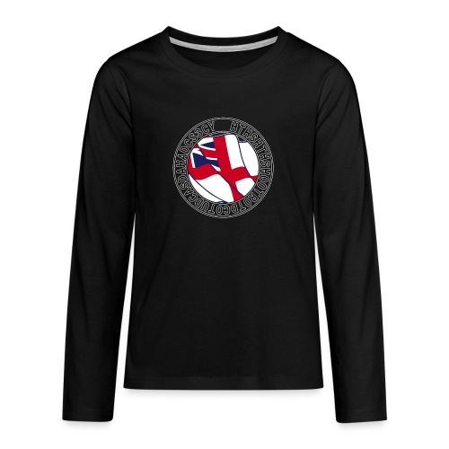 Hands to Harbour Stations (DC) - Teenagers' Premium Longsleeve Shirt