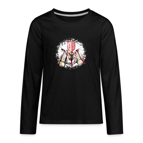 Vache d'hérens Eringer valais - T-shirt manches longues Premium Ado